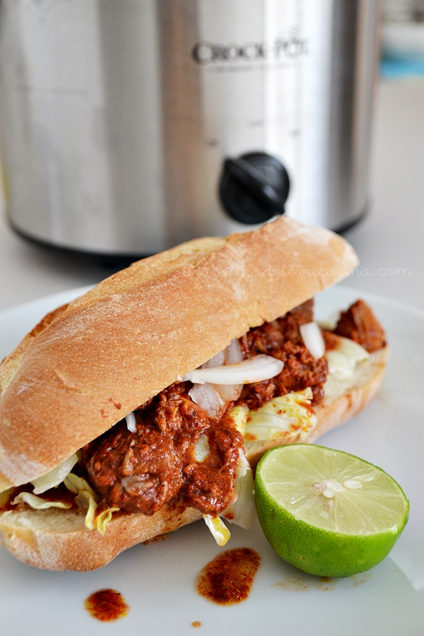 Cochinita pibil en la crock pot
