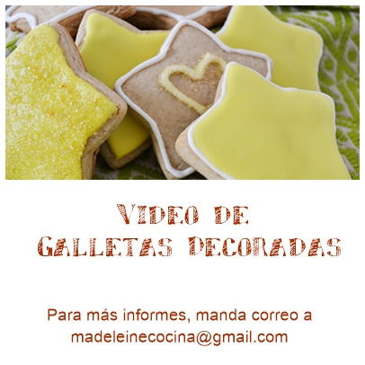 Video de galletas para decorar