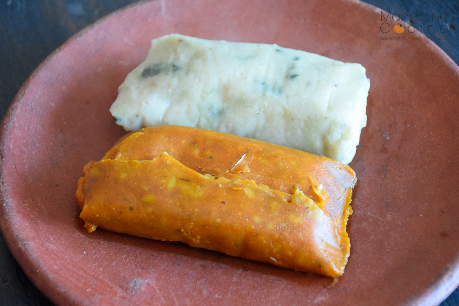 Tamales coloradito y chipilin