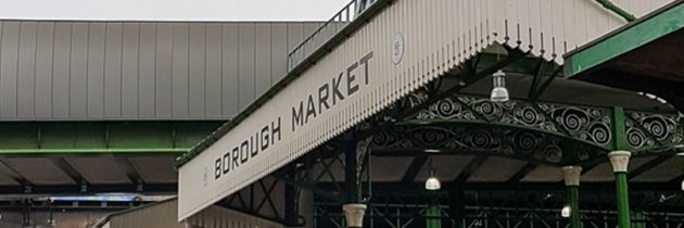 Desde 1756: Borough Market en Londres