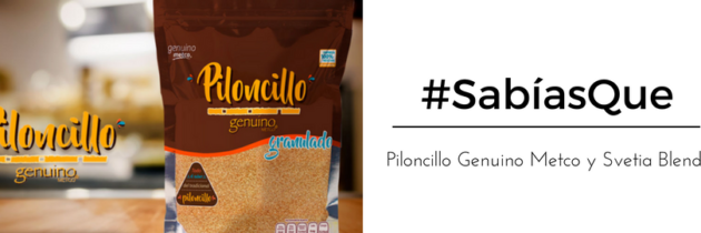 Piloncillo Genuino Metco y Svetia Blend #SabíasQue